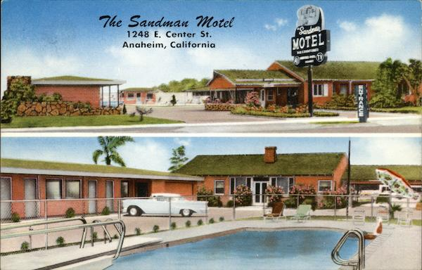 The Sandman Motel Anaheim California