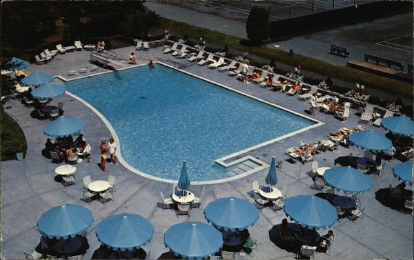Lake Placid Club - Outdoor Pool and Tennis Courts New York
