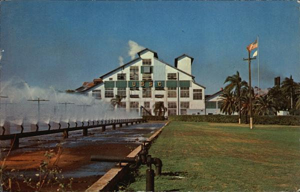 United States Sugar Corporation Raw Sugar House Clewiston Florida