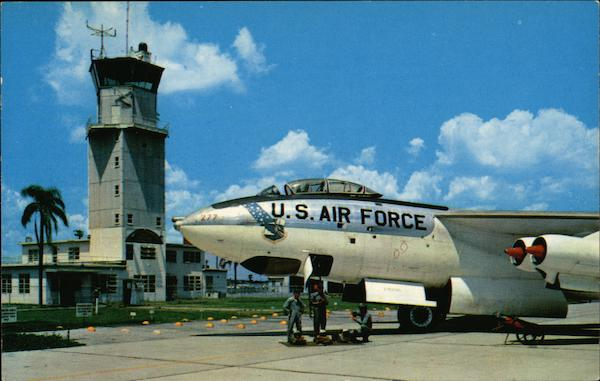 Combat Ready B-47 Crew of the 321st Bombardment Wing Pine Castle Air Force Base Florida