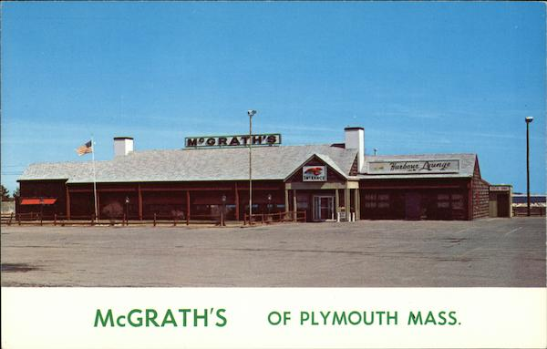 McGrath's Restaurant Plymouth Massachusetts