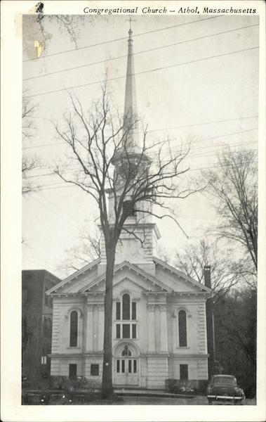 Congregational Church Athol Massachusetts