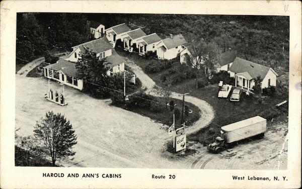 Harold and Ann's Cabins West Lebanon New York