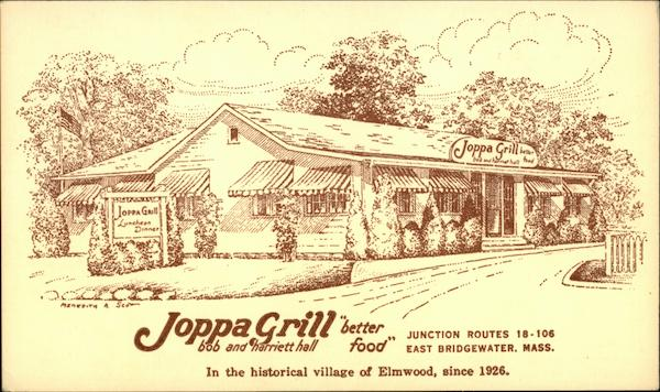 Joppa Grill East Bridgewater Massachusetts