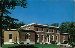 Bowdoin College - Gibson Hall of Music Postcard