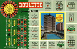 Hotel Sahara Roulette Guide Postcard
