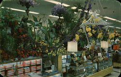Scene from Hess's Annual International Flower Show - Hess's Department Store