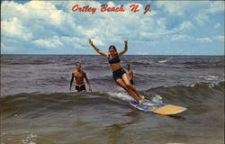 Surfing at Ortley Beach