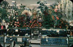 Scene from Hess's Annual International Flower Show