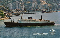 M.S. Taiwan - The China Navigation Co.