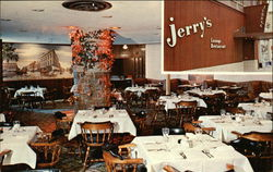 Jerry's Lounge Restaurant Postcard