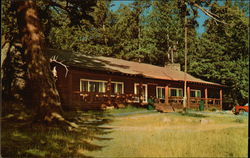 Roosevelt Lodge at Junction of North-East Entrance Road Yellowstone National Park