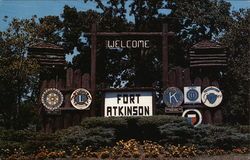 Entrance to Fort Atkinson, Wisconsin