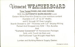 Vermont Weatherboard
