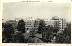 Missouri Baptist Hospital Postcard
