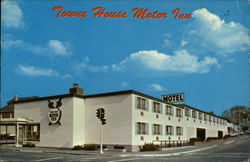 Towne House Motor Inn, Restaurant and Lounge Postcard