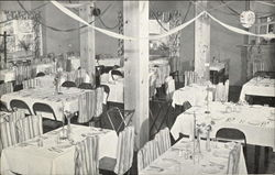 Dining Room, Pen-Rock Hotel