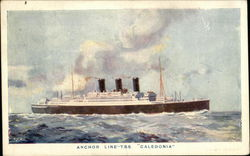 "T.S.S. ""Caledonia"" - Anchor Line"