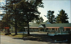Lake Winnipesaukee Motel Postcard
