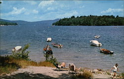 Newfound Lake Postcard