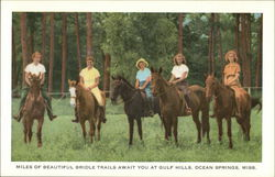 Miles of Beautiful Bridle Trails Await You at Gulf Hills Postcard