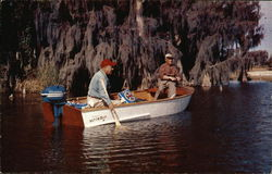 Anglers at Lake Harris