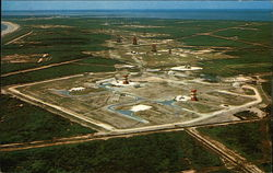 Aerial View of Cape Canaveral, Florida...