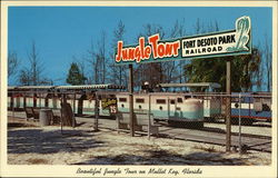 Fort De Soto Park Railroad - Scenic Jungle Tour, Mullet Key