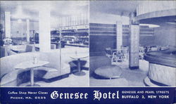 The Genesee Hotel Postcard