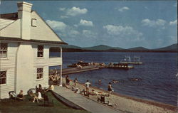 Upper Saranac Lake from Saranac Inn Bathing Beach