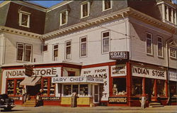 The Indian Store Moosehead Lake Postcard