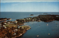 Aerial View of Cove Postcard