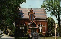 Merriam-Gilbert Public Library Postcard