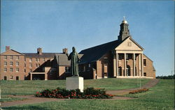 Merrimack College - Christ the Teacher, Chapel and Statue