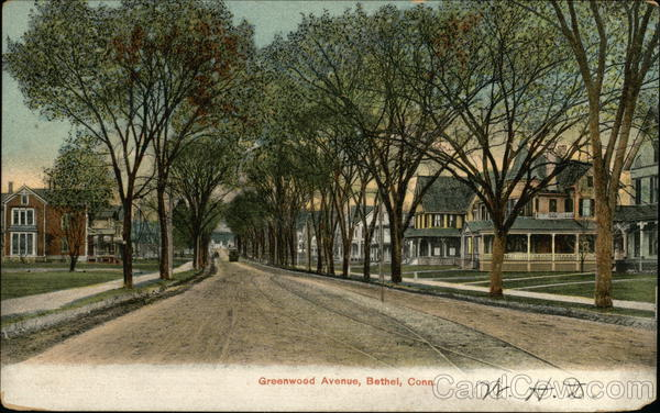 Greenwood Avenue Bethel Connecticut