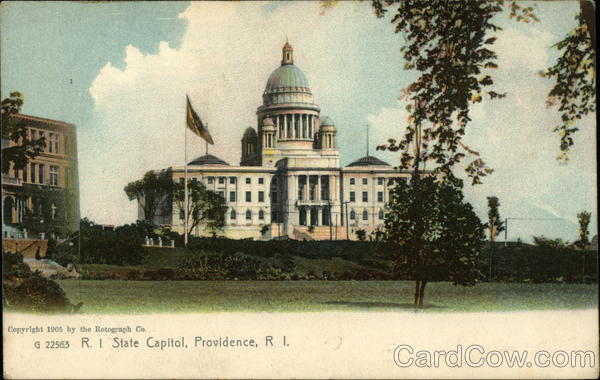 RI State Capitol Providence Rhode Island