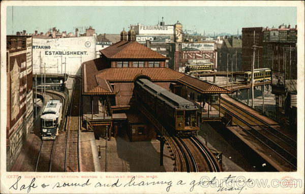 Dudley Street Station Boston Massachusetts