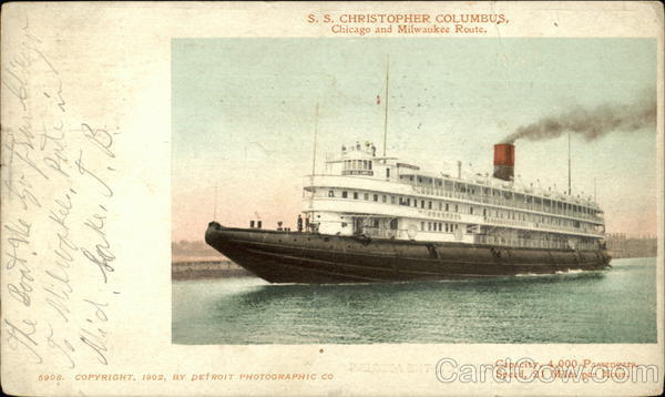 S. S. Christopher Columbus Cruise Ships