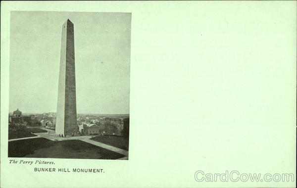 Bunker Hill Monument - National Educational Association 1903 Boston Massachusetts