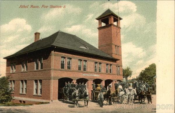 Fire Station 2 Athol Massachusetts