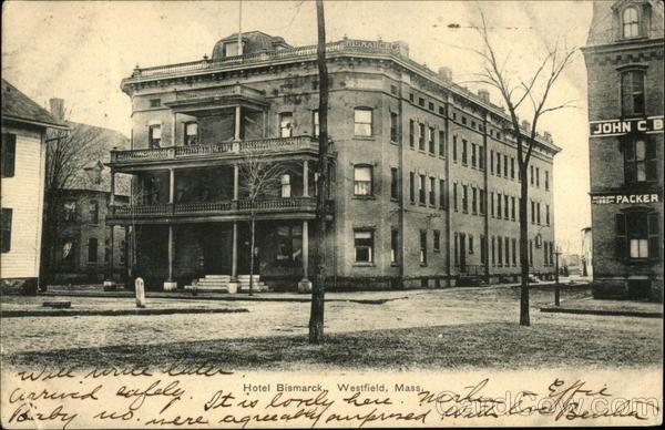 Hotel Bismarck Westfield Massachusetts