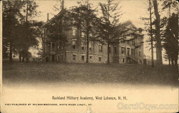 Rockland Military Academy West Lebanon New Hampshire