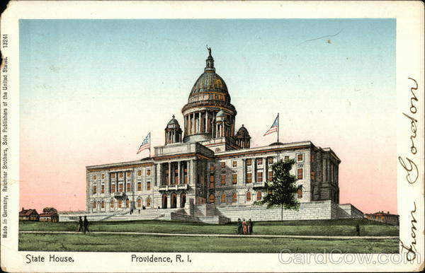 State House Providence Rhode Island
