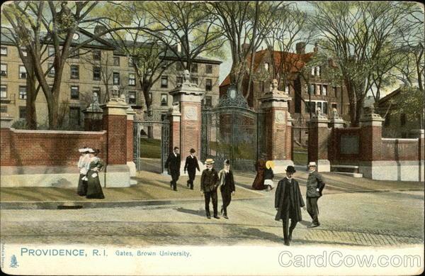 Gates, Brown University Providence Rhode Island