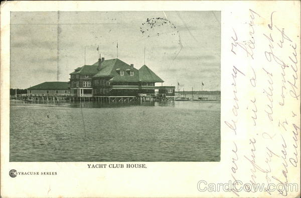 Yacht Club House Syracuse New York
