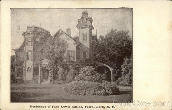 Residence of John Lewis Childs Floral Park New York