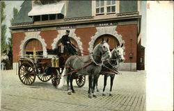 Horse-Drawn Fire Engines, Fire Station