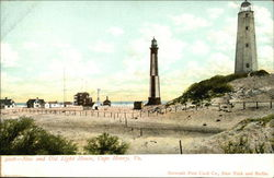New and Old Light House