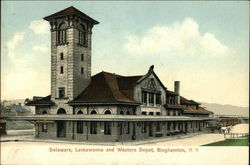 Delaware, Lackawanna and Western Depot