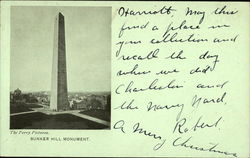 Bunker Hill Monument - National Educational Association 1903